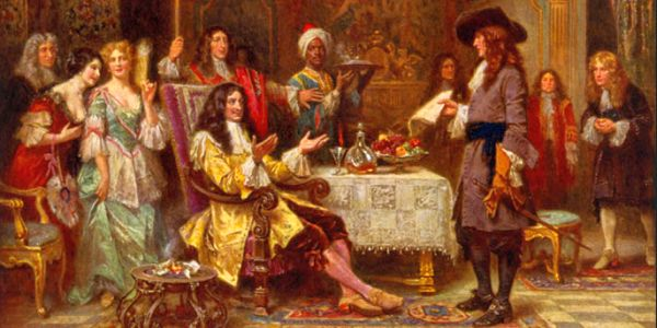 William Penn receives a colonial charter from Charles II
