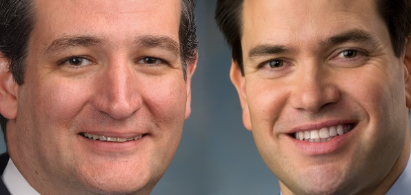 Ted Cruz and Marco Rubio