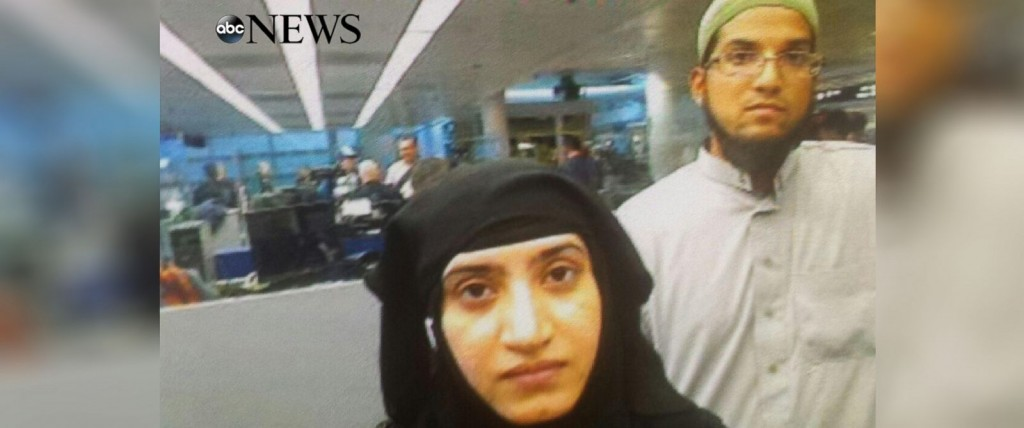 Muslim terrorists Syed Farook and wife, Tashfeen Malik killed 14 and wounded 21 in the December 2015 terror attacks in San Bernardino California