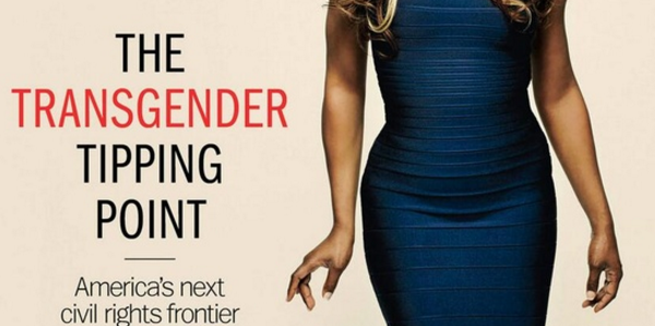 Mislabeling a transgender can bring a fine of $250,000 in New York City. (Credit: TIME magazine cover)