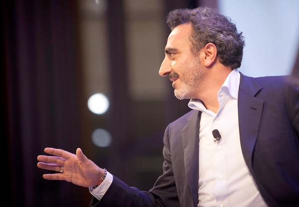 Hamdi Ulukaya, founder and CEO of Chobani Yogurt