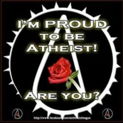 Proud to be an atheist