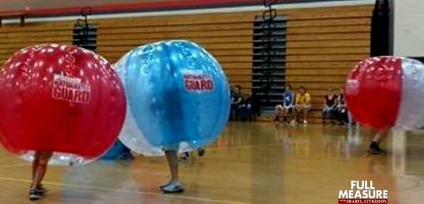'Bubble balls' purchased by National Guard