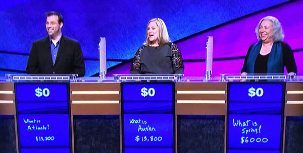 'Jeopardy' Three-Way Loss Leaves Game Show Without a Champion