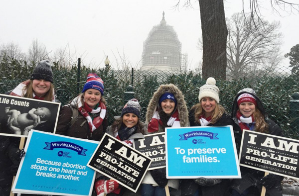 2016 March for Life activists arrive all the way from Michigan (Photo: Instagram/March for Life)