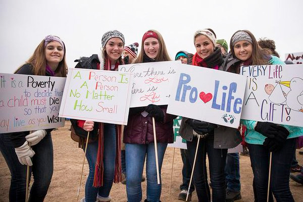 2016 March for Life (Photo: Twitter/Elizabeth Scalia)