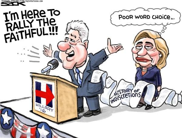 Bill Clinton Rallies The Faithful
