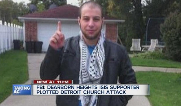 Alleged ISIS sympathizer Khalil Abu-Rayyan of Dearborn Heights.