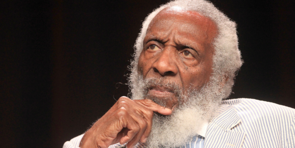 Dick Gregory, comedian, activist and social justice crusader.