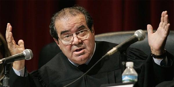 Supreme Court Justice Antonin Scalia (Photo: Twitter/Allen West)
