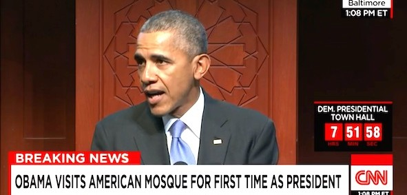 President Obama visits the the Islamic Society of Baltimore, Feb. 3, 2016