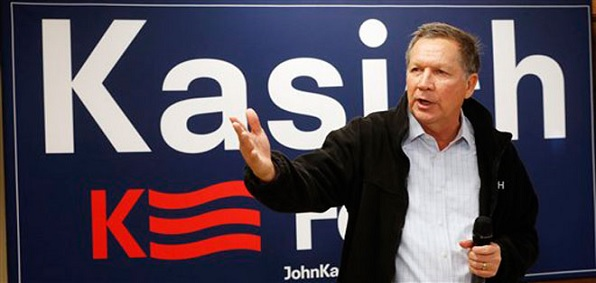 Ohio Gov. John Kasich, a contender for the GOP presidential nomination, has supported the resettlement of Muslim refugees in his state.