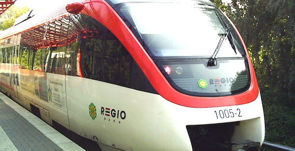 Germany's Regiobahn line will begin offering carriages that only accept women and children, yet it denies the decision was made in response to migrant sex attacks (Photo: Wikimedia Commons)