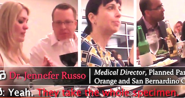 Dr. Jennefer Russo, medical director at Planned Parenthood of Orange and San Bernardino Counties, California (Photo: YouTube, The Center for Medical Progress)