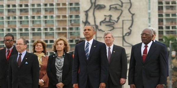 President Obama visits Cuba (Photo: Twitter)