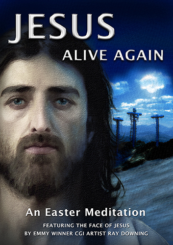 RAY DOWNING jesus alive DVD COVER