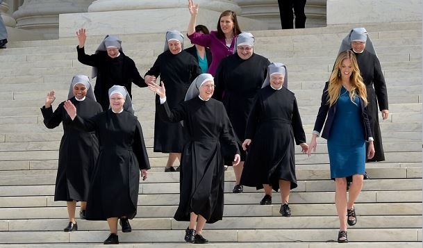 Little Sisters at the Supreme Court (Image courtesy Becket Fund)