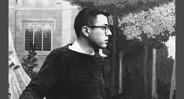 Bernie Sanders as a young man (Twitter photo)