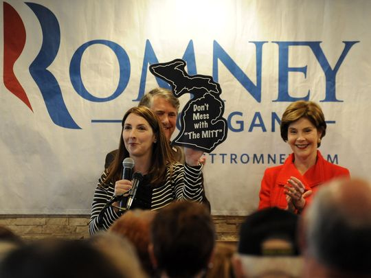 Ronna Romney McDaniel, Michigan Republican State Chair
