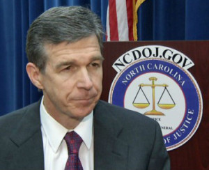 N.C. Attorney General Roy Cooper has refused to defend his state's law banning transgender men from entering women's restrooms and locker rooms.