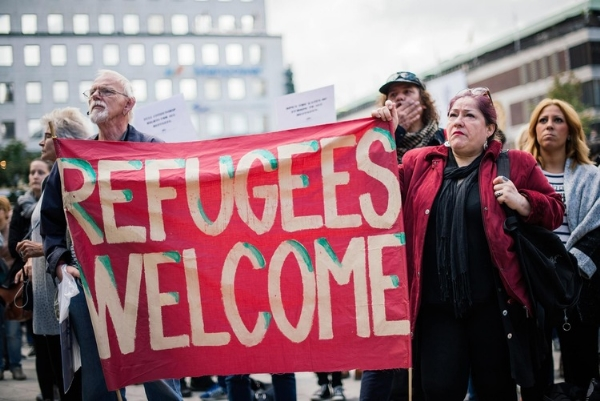 sweden refugees welcome