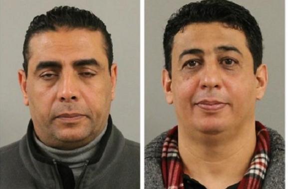 Hassan Ibrahim, left, and Salim Salem