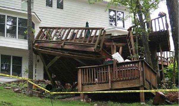 Is Your Wooden Deck Or Balcony About To Kill You Wnd