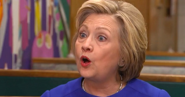 "Hillary Clinton told the ""Today"" show's Matt Lauer she did nothing wrong by using a personal email server to conduct official business as President Obama's secretary of state (Photo: NBC News screenshot)"