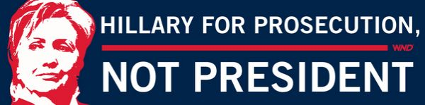 Hillary bumper sticker