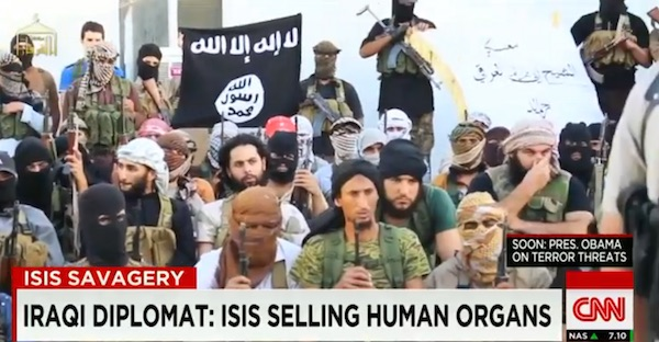 ISIS is allegedly so desperate for cash that it has resorted to selling organs of its wounded members on the black market