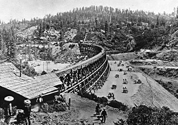 The building of the Trans Continental Rail Road hoped to heal the divisions of North vs. South by connecting the Atlantic to the Pacific