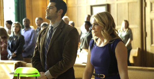 "Melissa Joan Hart and Jesse Metcalfe star in ""God's Not Dead 2"""