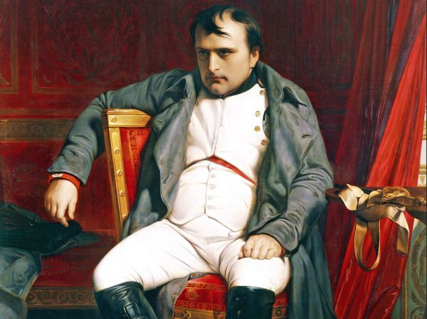 Napoleon, defeated