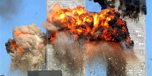 Twin Towers on Sept. 11, 2001