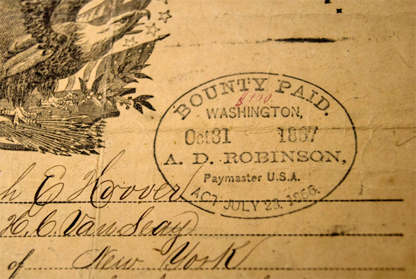"""Union Bound,"" bounty signed by Joseph Hoover (Photo: Facebook)"