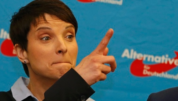 Frauke Petry, leader of the German AFD Party.