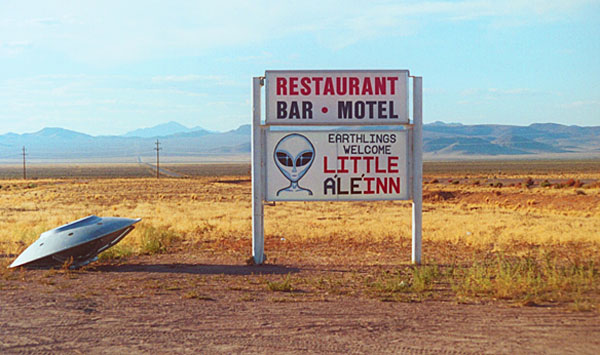 "The Little A'le'inn in Rachel, Nevada, is a unique part of Americana due to its proximity to the infamous Area 51. The inn was featured in the two-part episode, ""Dreamland"" on ""The X-Files."" (Photo by Anthony C. LoBaido)"
