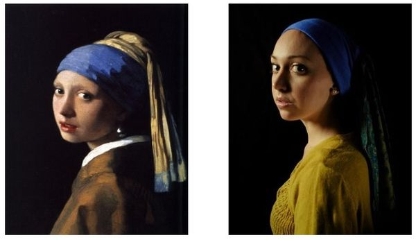 They still prefer the painting to the real girl; images from a study at University of Dayton in 2014