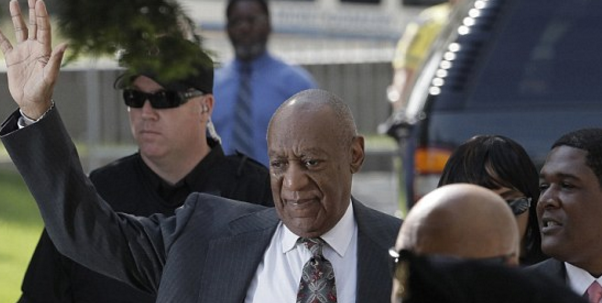 Bill Cosby enters court in Pennsylvania.