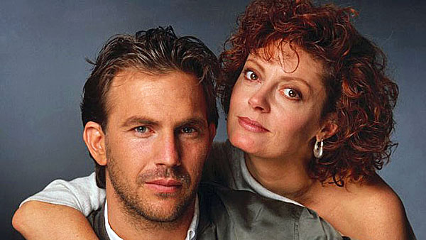 "Kevin Costner and Susan Sarandon co-starred in the 1988 baseball film ""Bull Durham."""