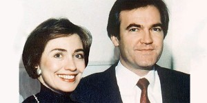 Hillary Clinton and Vince Foster were longtime friends and colleagues at the Rose Law Firm in Arkansas.