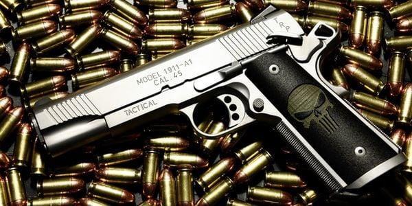Jingle bullets! Employees given guns for Christmas