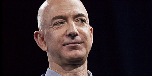 Jeff Bezos, CEO of Amazon and owner of the Washington Post (Photo: Twitter)