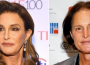 'Caitlyn' Jenner after transition (left) and Bruce Jenner before transition (right)