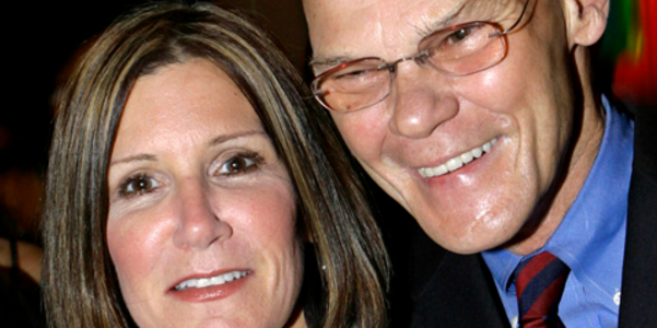 Mary Matalin and her husband, James Carville.