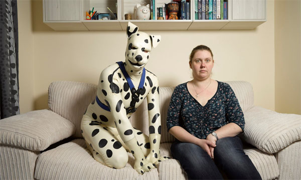 "Tom chose dressing as a dog named ""Spot"" rather than marrying his fiancee, Rachel (Photo: Richard Ansett/Channel 4)"