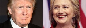 Donald Trump and Hillary Clinton (Photo: Twitter)