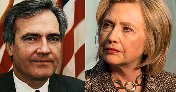 Vince Foster and Hillary Clinton