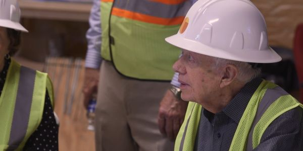 Former President Jimmy Carter visits site of Ark Encounter