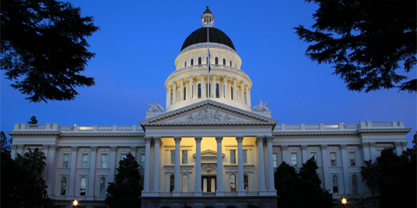 California's state capitol building in Sacramento